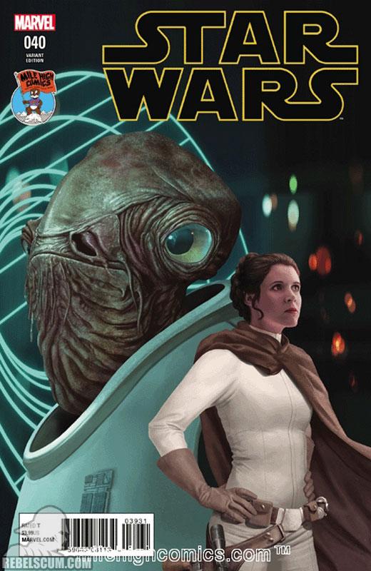 Star Wars 40 (Razzah Mile High Comics variant)
