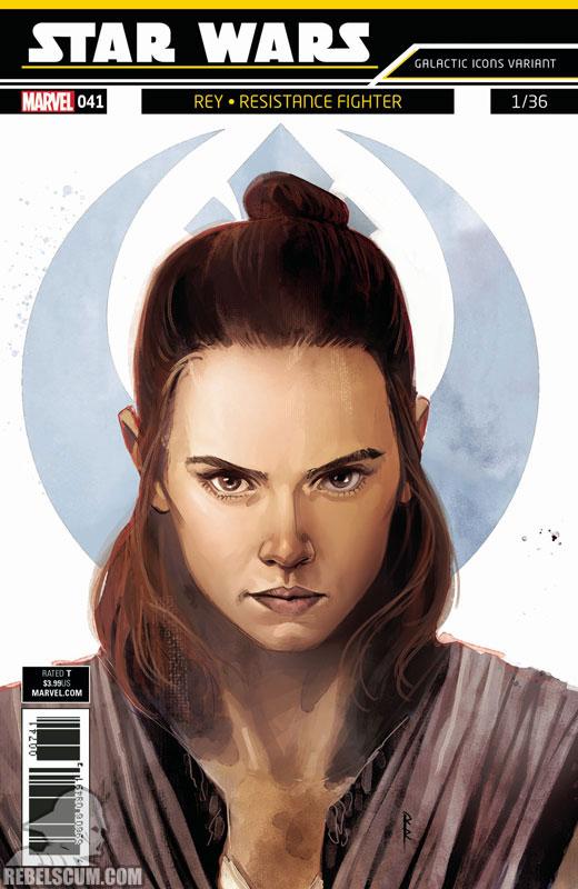 Star Wars 41 (Rod Reis Galactic Icon variant)
