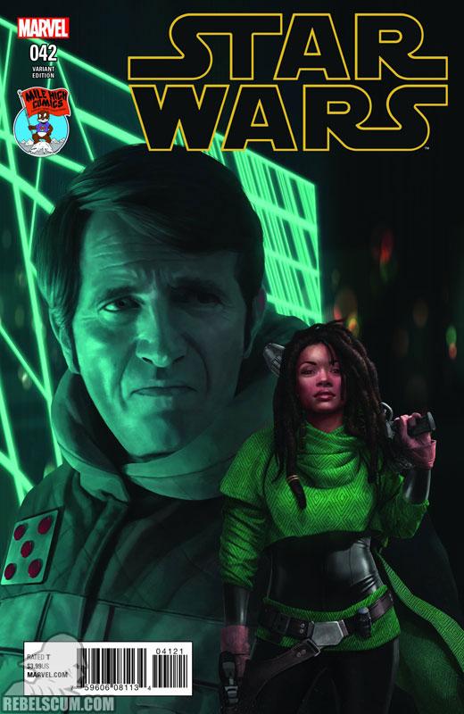 Star Wars 42 (Razzah Mile High Comics variant)