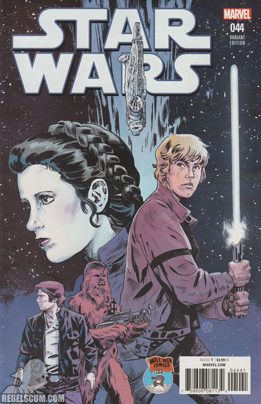Star Wars 44 (Michael Walsh Mile High Comics variant)