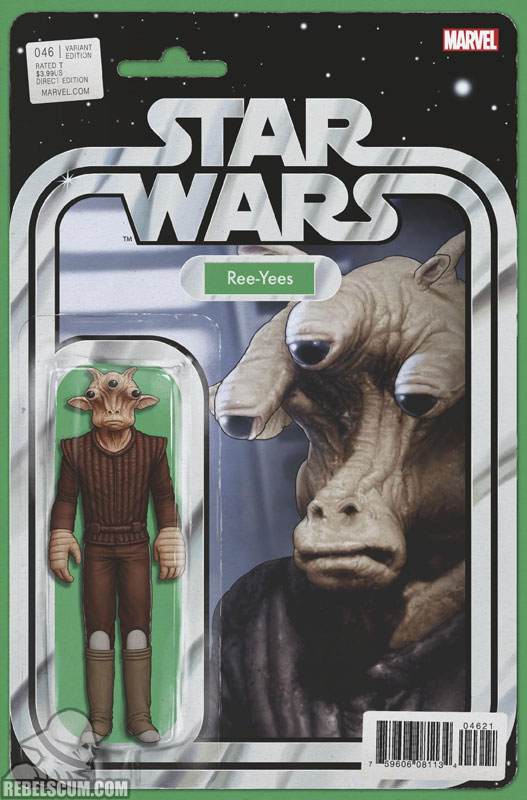 Star Wars 46 (John Tyler Christopher action figure variant)