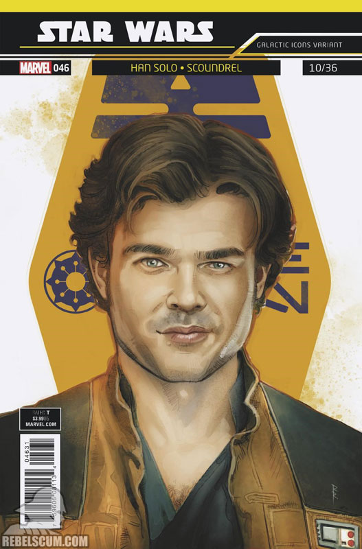 Star Wars 46 (Rod Reis Galactic Icon variant)