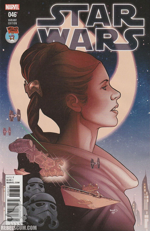 Star Wars 46 (Paul Renaud Mile High Comics variant)