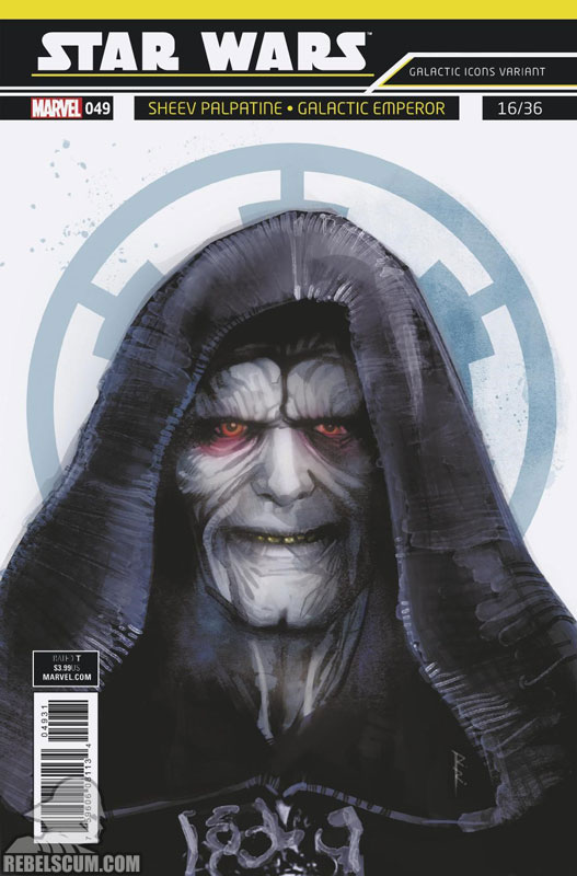 Star Wars 49 (Rod Reis Galactic Icon variant)