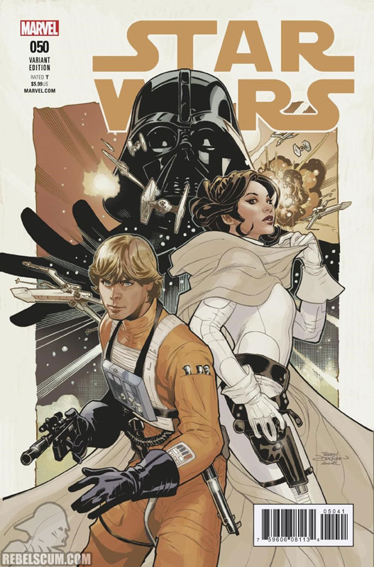 Star Wars 50 (Terry & Rachel Dodson variant)