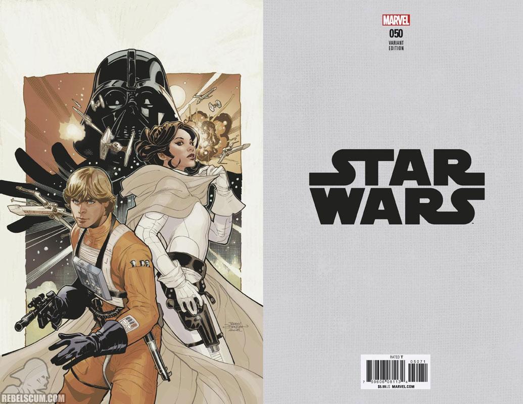 Star Wars 50 (Terry Dodson virgin variant)