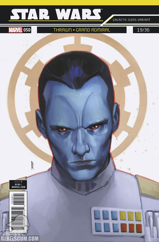 Star Wars 50 (Rod Reis Galactic Icon variant)