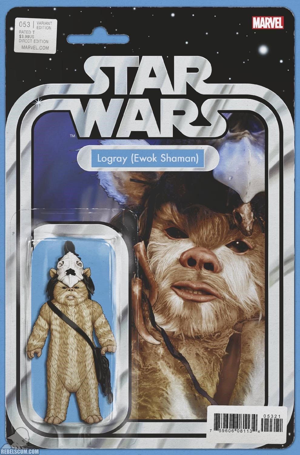 Star Wars 53 (John Tyler Christopher Action Figure variant)
