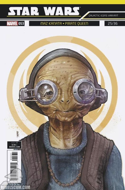 Star Wars 53 (Rod Reis Galactic Icon variant)