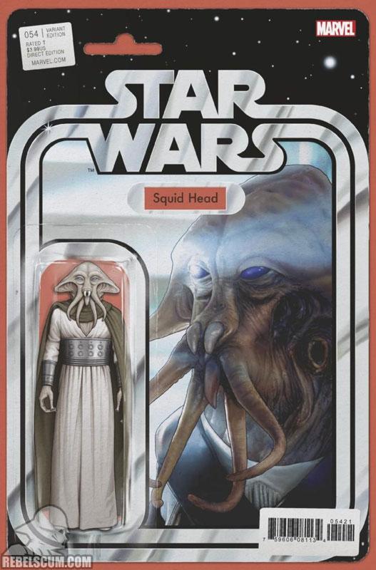 Star Wars 54 (John Tyler Christopher Action Figure variant)