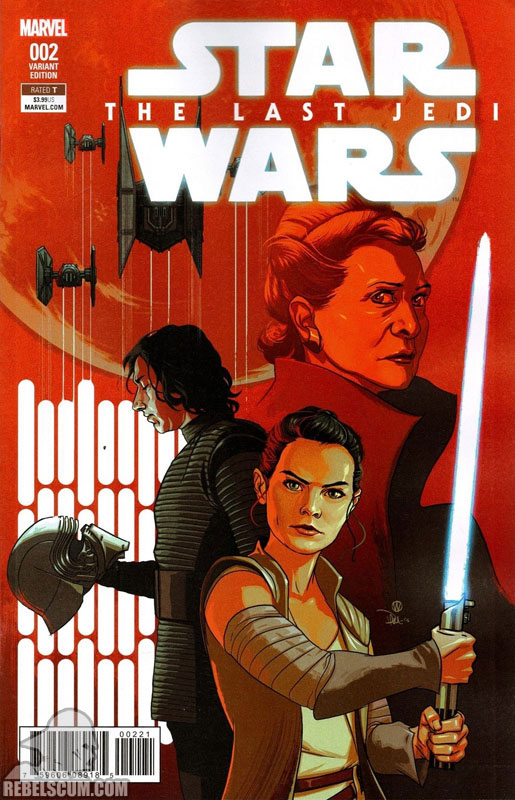 The Last Jedi 2 (Michael Walsh variant)