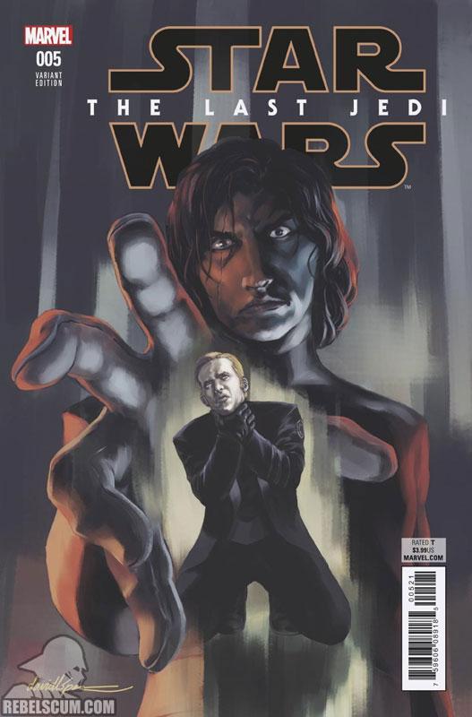 The Last Jedi 5 (David Lopez variant)