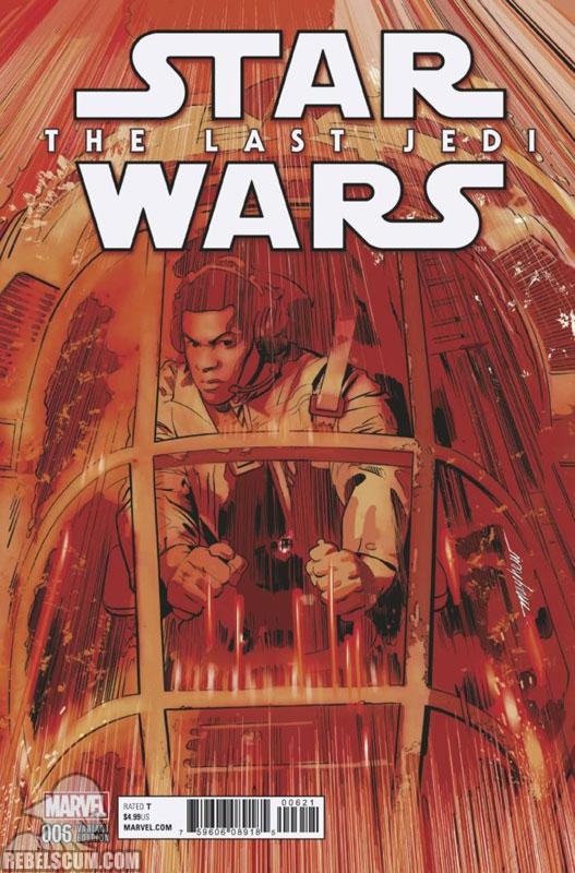 The Last Jedi 6 (Mike Mayhew variant)