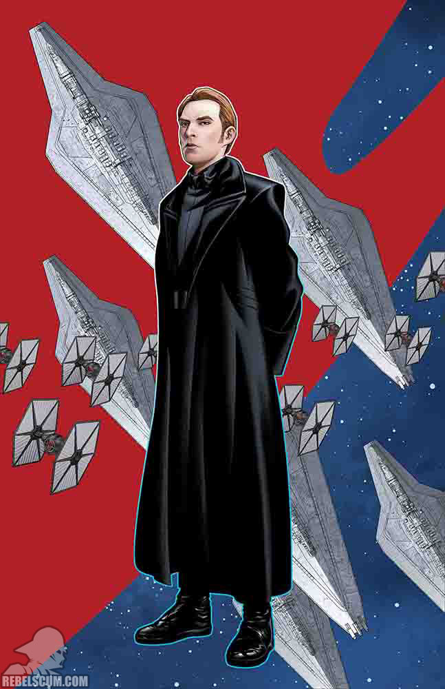 Age of Resistance – General Hux (Mike McKone Puzzle Piece variant)