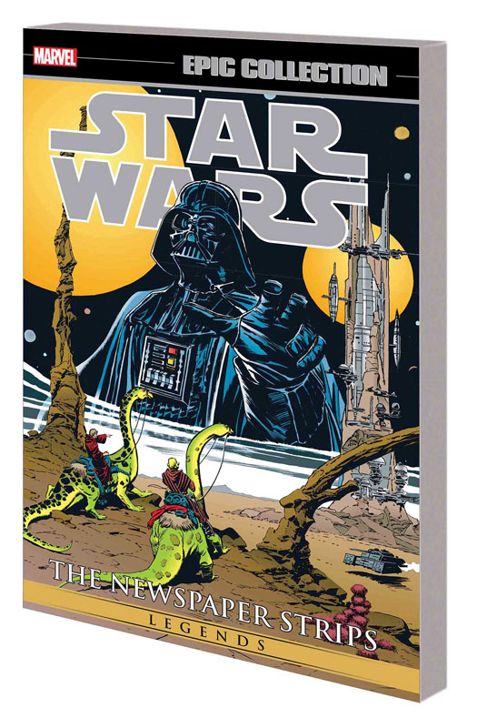 Star Wars Legends Epic Collection: The Newspaper Strips Trade Paperback 2