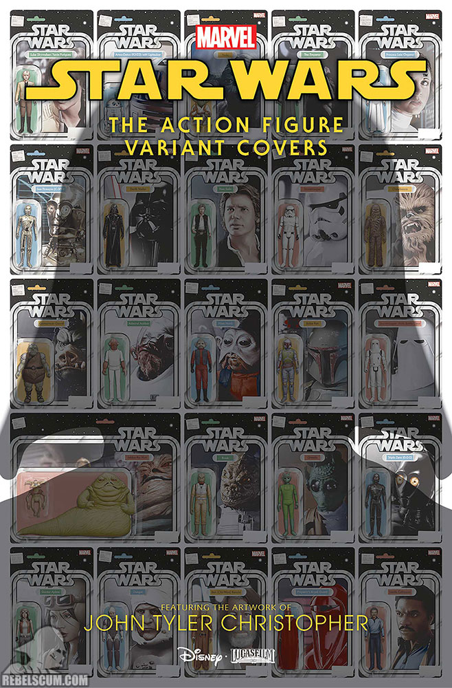 Star Wars Action Figure Variant Covers 1