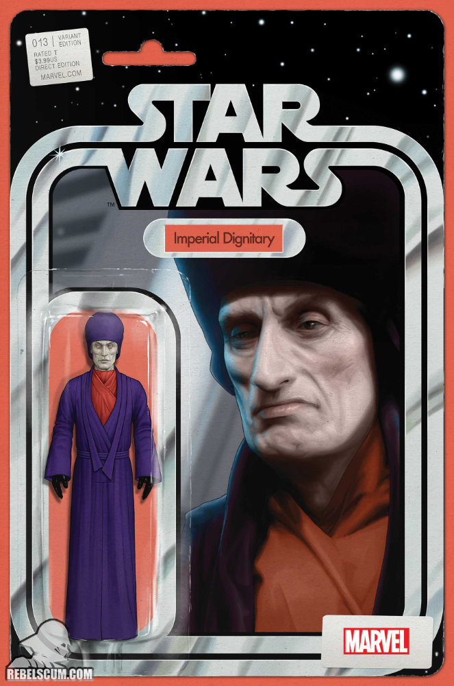 Star Wars 13 (John Tyler Christopher Action Figure variant)