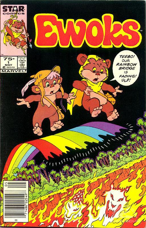 Ewoks 1 (Canadian 75¢ variant)