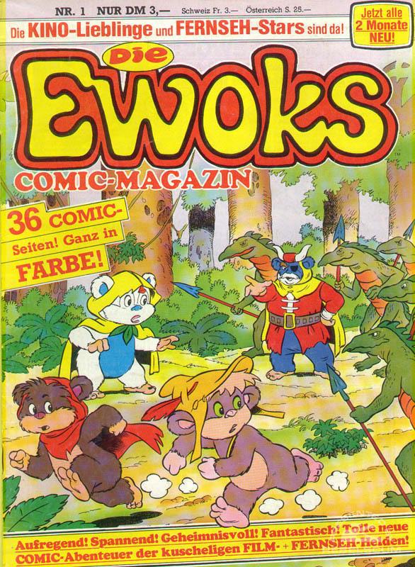 Die Ewoks Comic-Magazin #1 (German Edition)