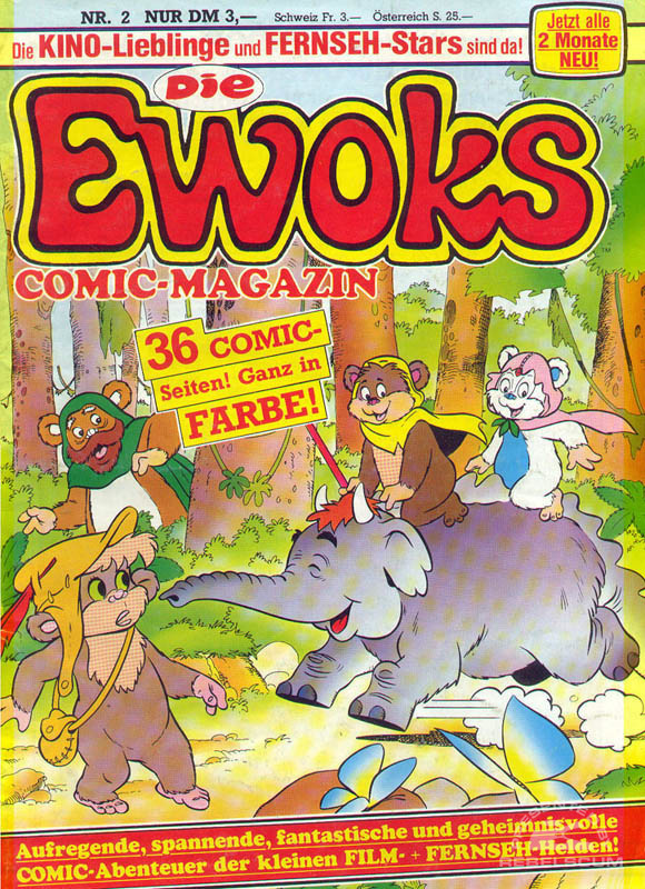 Die Ewoks Comic-Magazin #2 (German Edition)