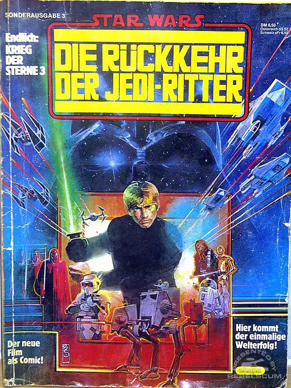 Star Wars: Die Rückkehr Der Jedi-Ritter (German Edition)