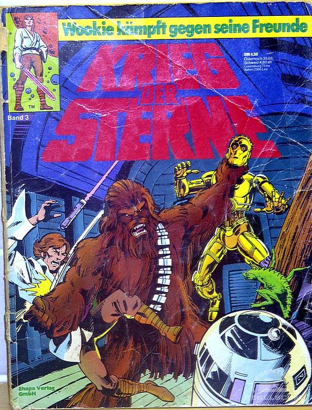 Star Wars: Kried Der Sterne #3 (German Edition)