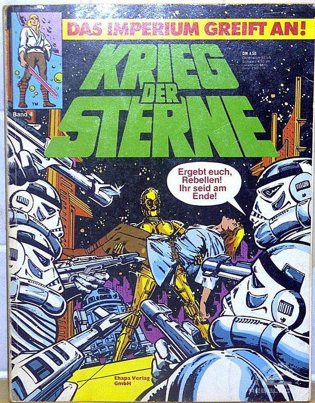 Star Wars: Kried Der Sterne #4 (German Edition)