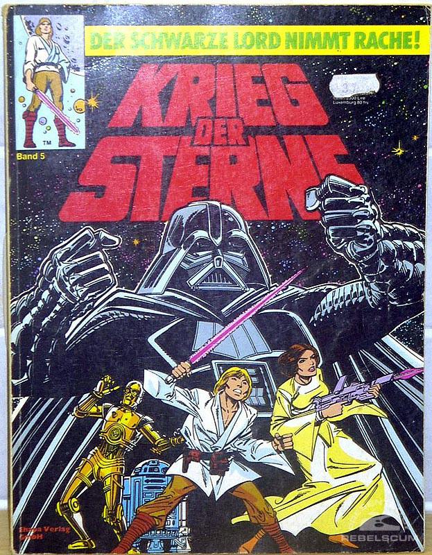 Star Wars: Kried Der Sterne #5 (German Edition)
