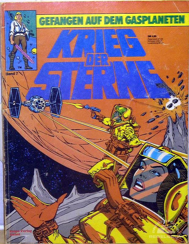 Star Wars: Kried Der Sterne #7 (German Edition)