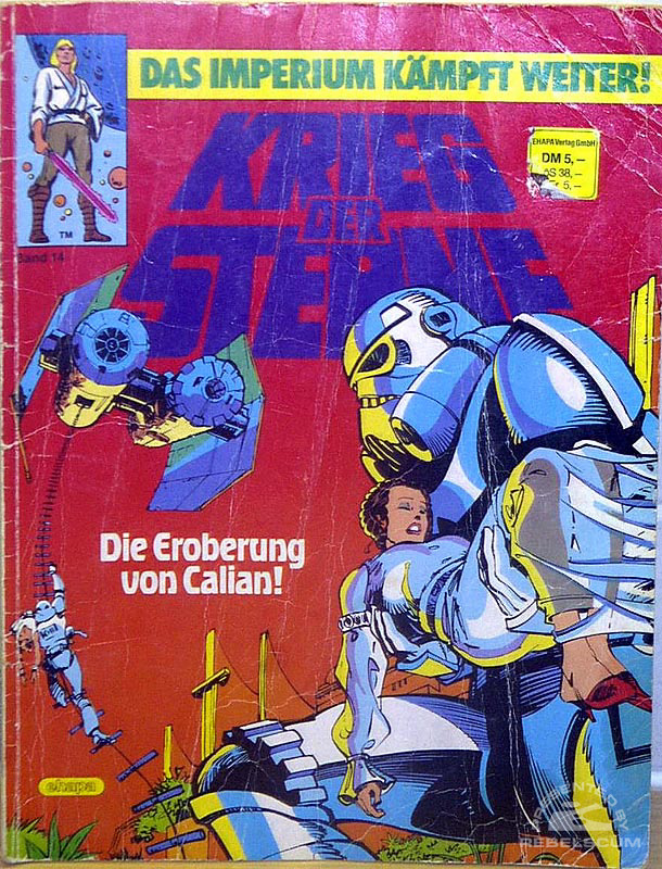 Star Wars: Kried Der Sterne #14 (German Edition)