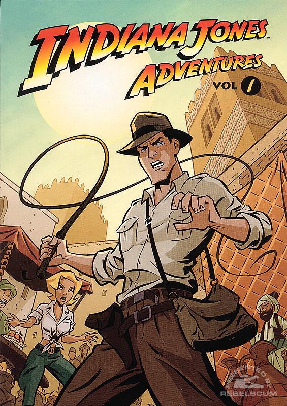 Indiana Jones Adventures #1