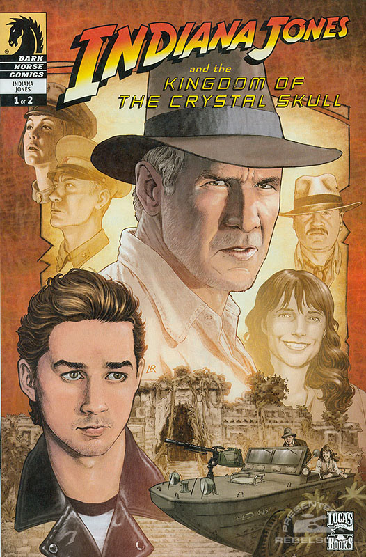Indiana Jones and the Kingdom of the Crystal Skull 1 (Blockbuster Video exclusive)
