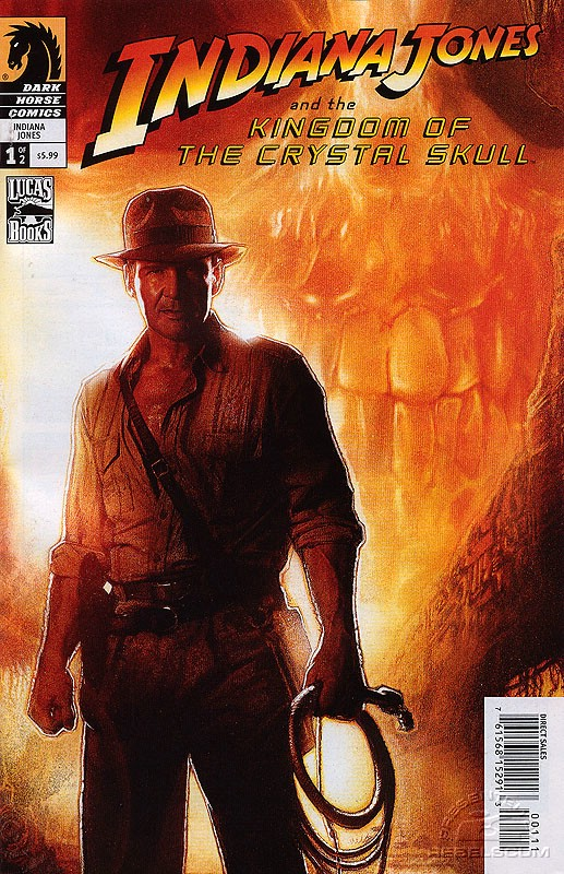 Indiana Jones and the Kingdom of the Crystal Skull 1 (alternate cover)