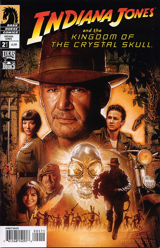 Indiana Jones and the Kingdom of the Crystal Skull #2 (alternate cover)