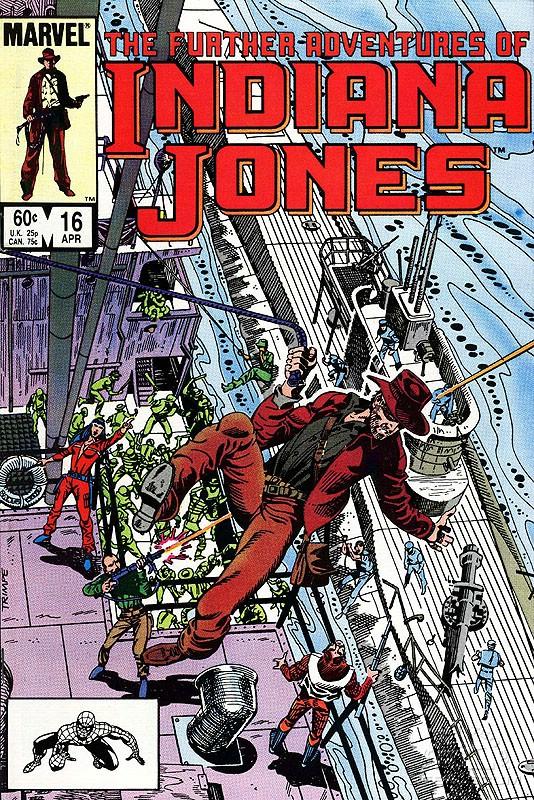 The Further Adventures of Indiana Jones #16