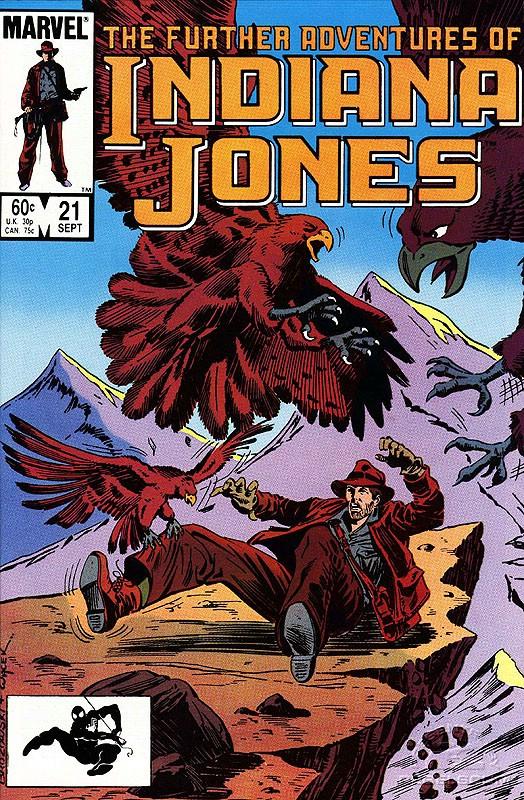 The Further Adventures of Indiana Jones #21