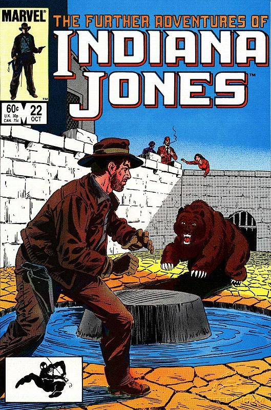The Further Adventures of Indiana Jones #22