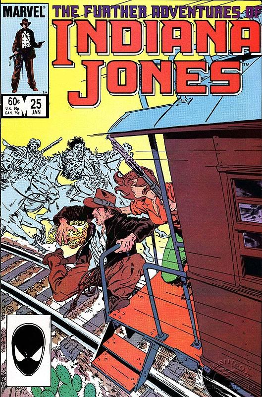 The Further Adventures of Indiana Jones #25