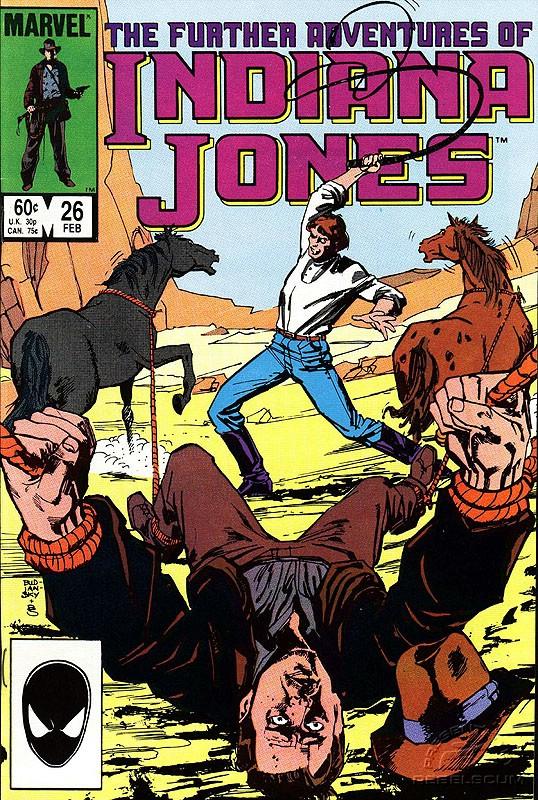 The Further Adventures of Indiana Jones #26