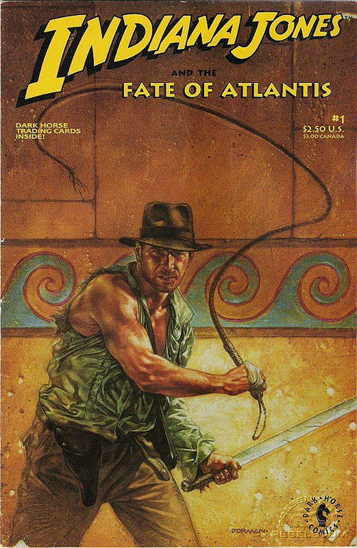 Indiana Jones and the the Fate of Atlantis #1