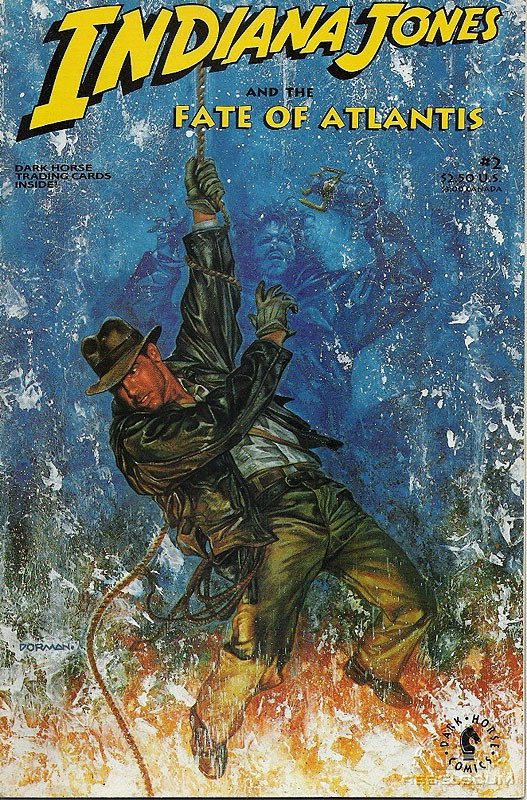 Indiana Jones and the the Fate of Atlantis #2