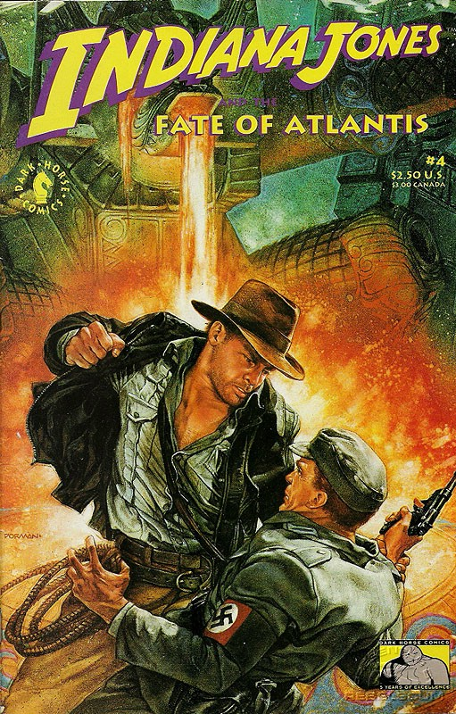 Indiana Jones and the the Fate of Atlantis 4