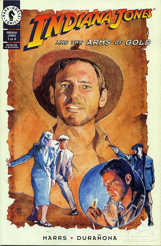 Indiana Jones and the Arms of Gold 1