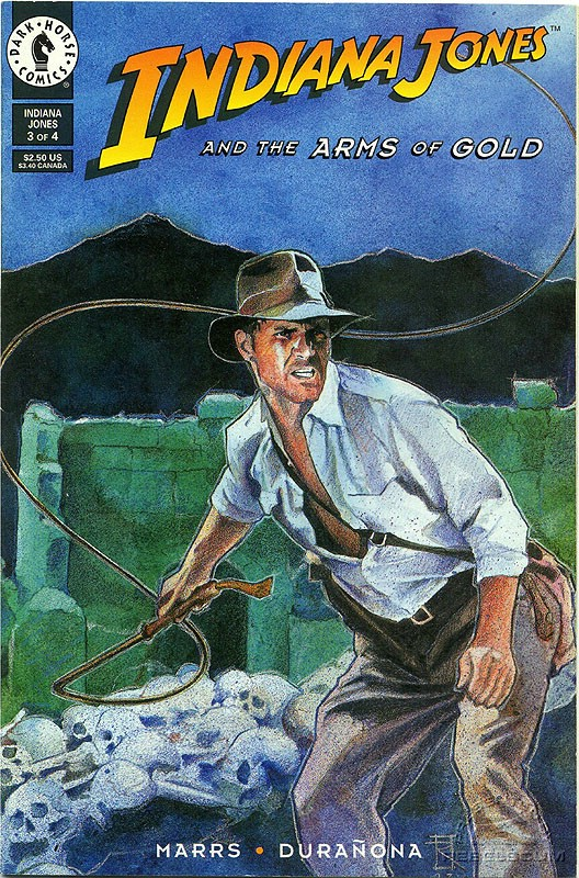 Indiana Jones and the Arms of Gold #3