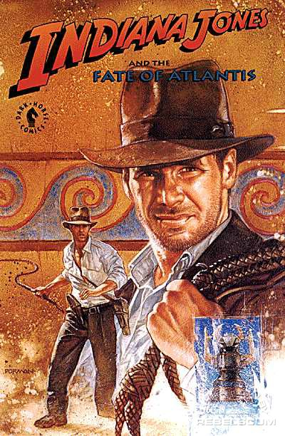 Indiana Jones and the the Fate of Atlantis Trade Paperback
