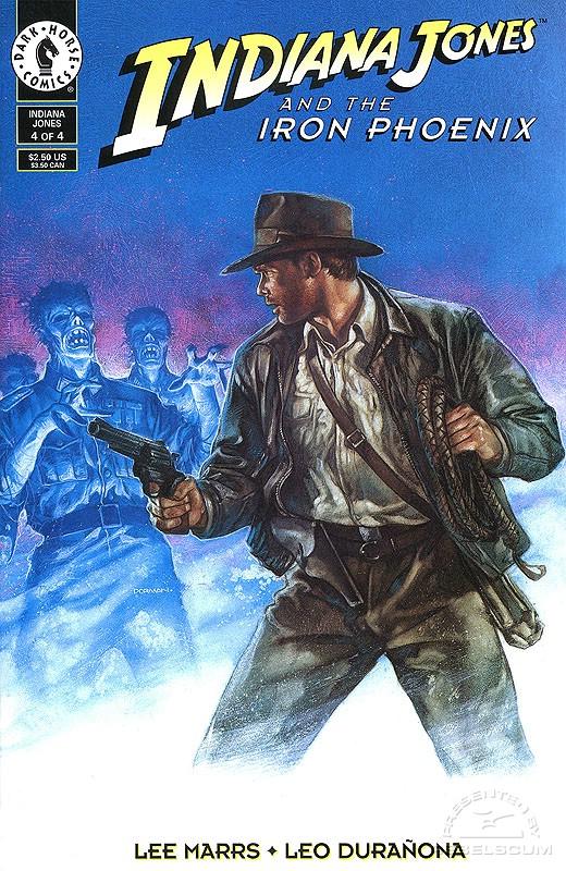 Indiana Jones and the Iron Phoenix #4