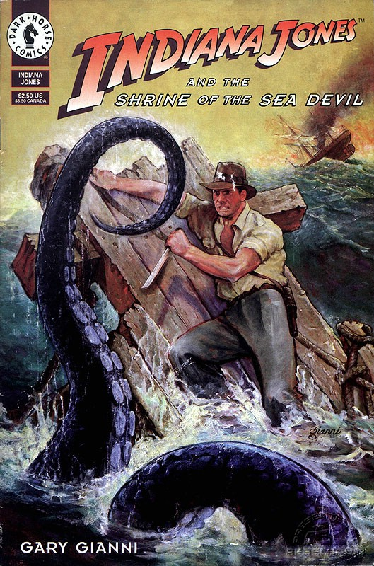 Indiana Jones and the Shrine of the Sea Devil 1