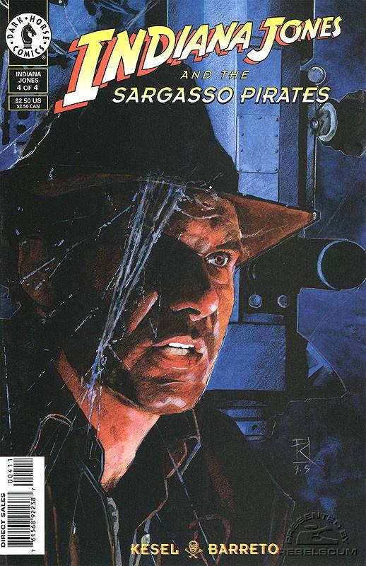 Indiana Jones and the Sargasso Pirates #4