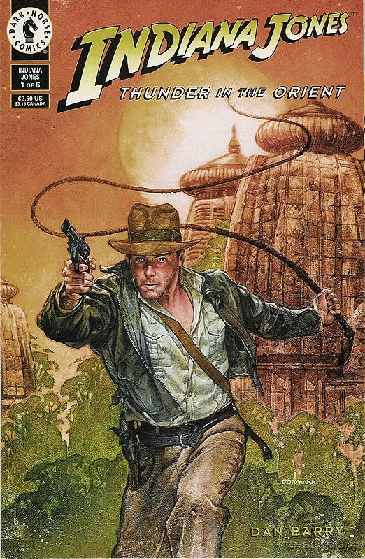 Indiana Jones: Thunder in the Orient #1