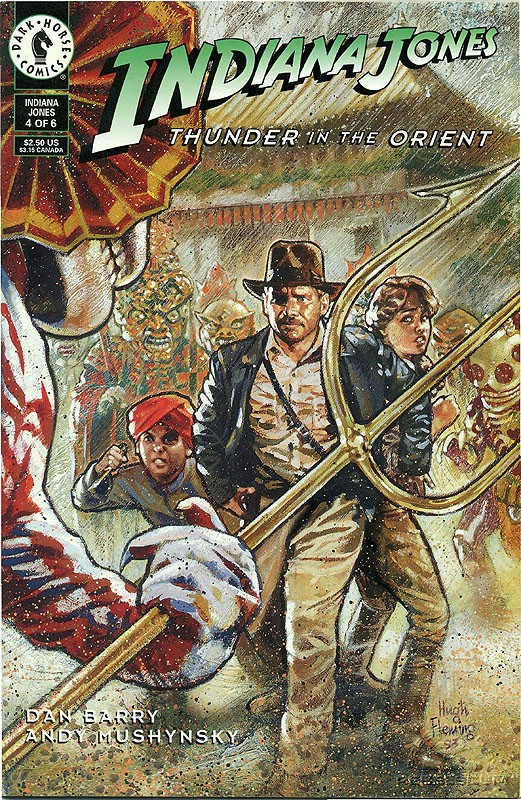 Indiana Jones: Thunder in the Orient #4